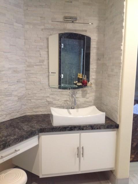 Before after kitchen remodeling and bathroom remodeling for Bath remodel las vegas