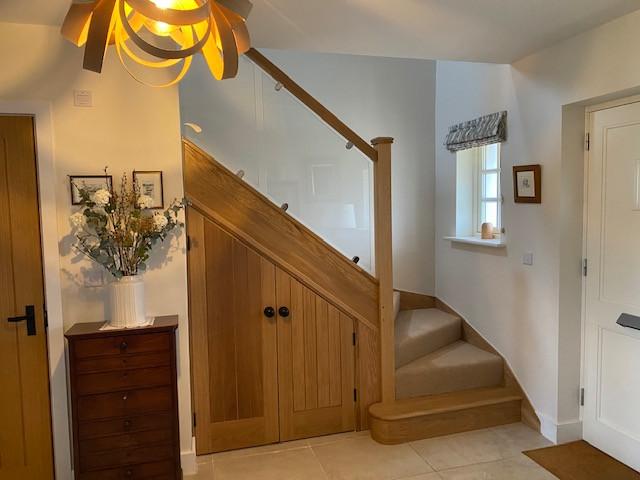 Staircase - (Barton Tracy, Wiltshire)