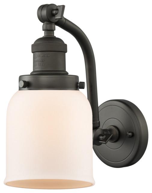 "Innovations Lighting 515-1W Small Bell Small Bell Single Light 12"" Tall Bathroo"