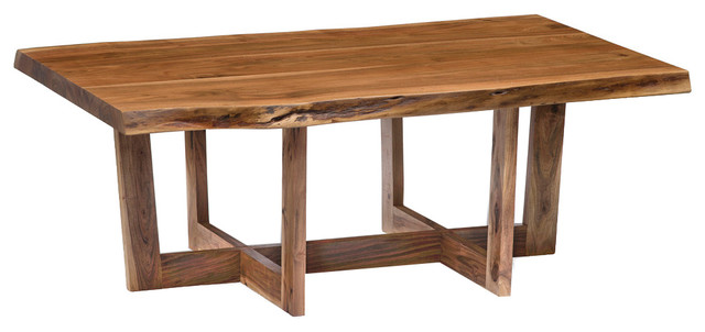 Berkshire Live Edge Large Coffee Table, Natural