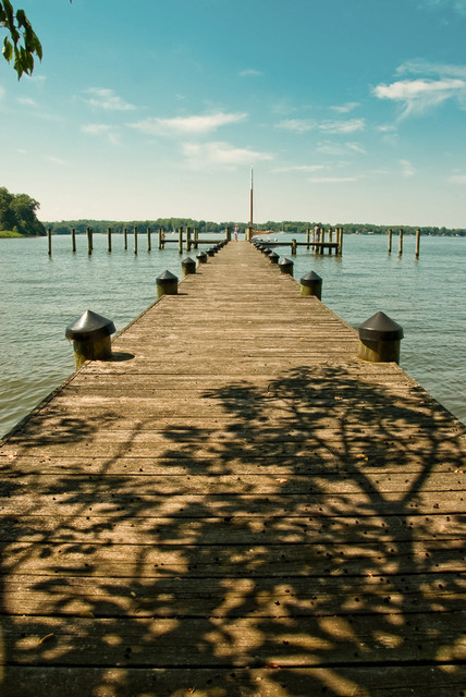 Endless Dock Landscape Photography Unframed Wall Art Print, 16x20 by Pi Photography and Fine Art