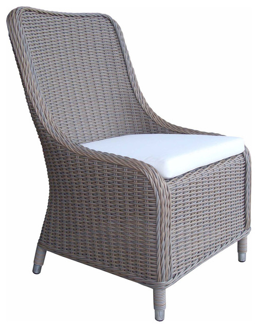 Safavieh Figueroa 4-Piece Outdoor Patio Set, Gray And White Ii