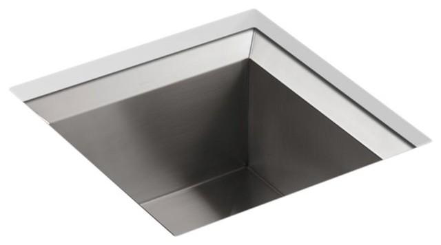 Kohler Poise Under-Mount Single-Bowl Bar Sink.