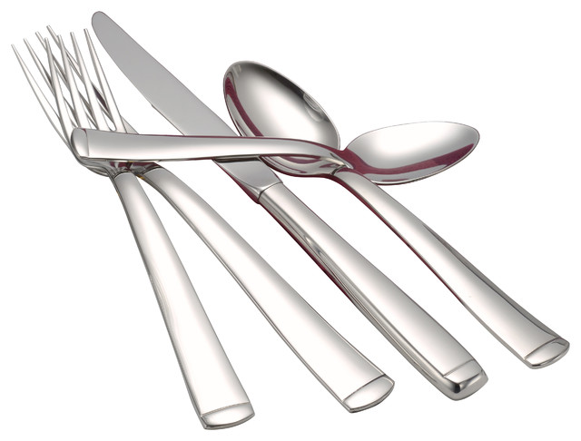 Lexington Serving Set Modern Flatware And Silverware Sets By Liberty Tabletop
