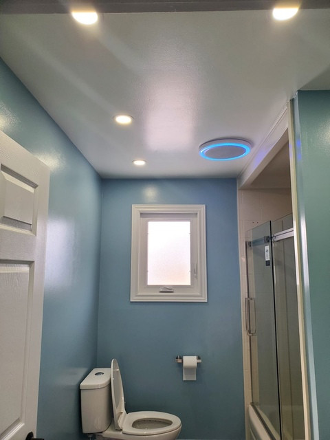 The Blue Bathroom Remodel