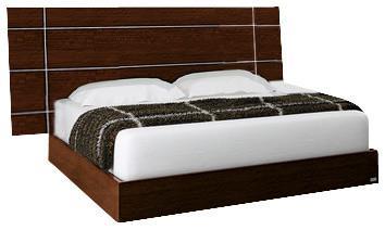 Dream Walnut Bed, King.