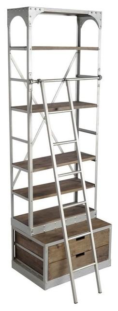 Hisano shelving units by industrial loft furniture