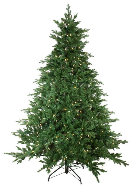 6.5' Pre-Lit LED Instant Connect Minnesota Balsam Fir Artificial Christmas Tree