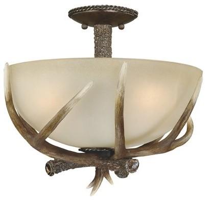 flush mount light rustic flush mount ceiling lighting by vaxcel. Black Bedroom Furniture Sets. Home Design Ideas