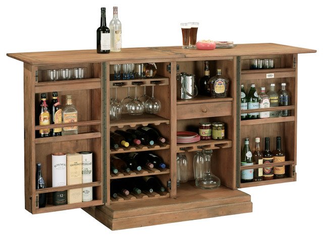 Howard Miller Clare Valley Wine & Bar - Traditional - Wine And Bar Cabinets - by Home Bars USA