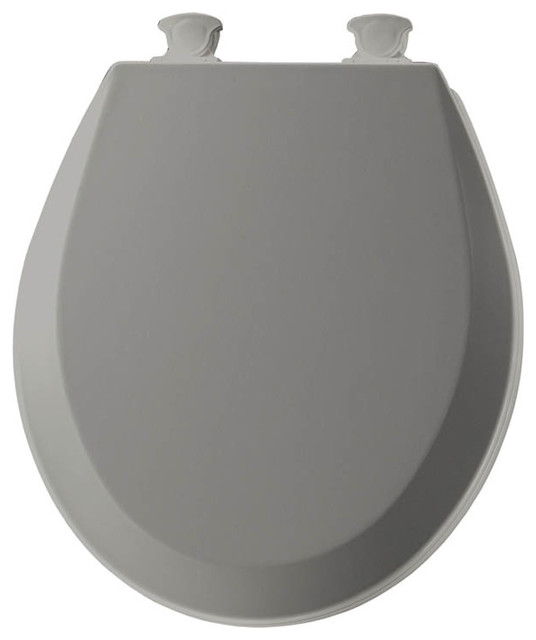 Bemis 500ec 000 Lift Off Wood Round Toilet Seat