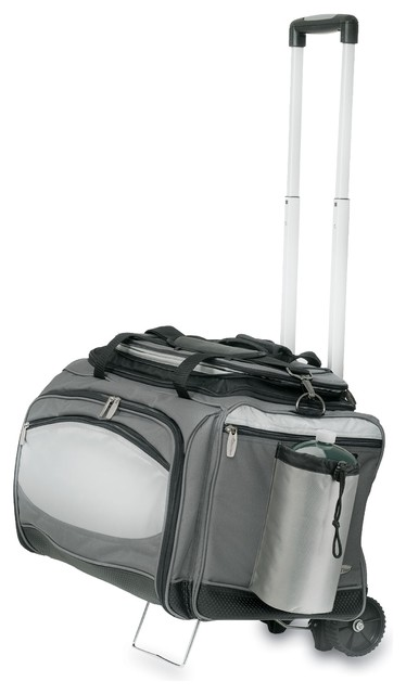 Vulcan Portable Bbq And Cooler Tote With Trolley.