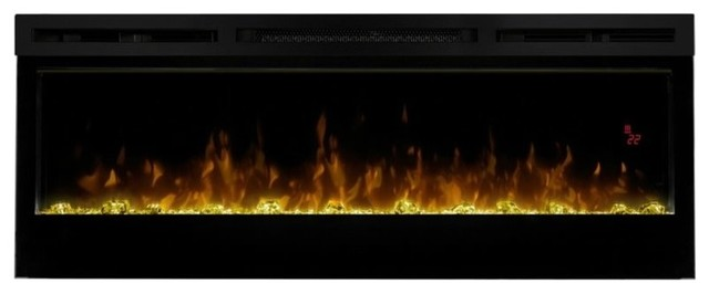 Dimplex Prism 50 Wall Mount Linear Electric Fireplace Insert In Black.