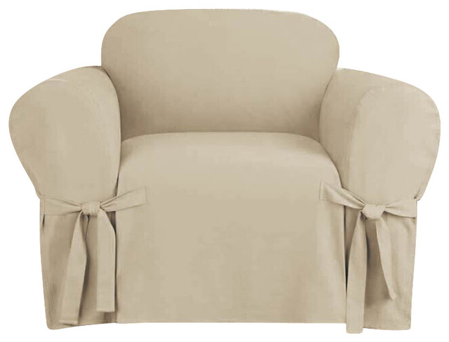 Kashi Home Microsuede Slipcover View in Your Room Houzz : traditional armchairs and accent chairs from www.houzz.com size 640 x 488 jpeg 33kB