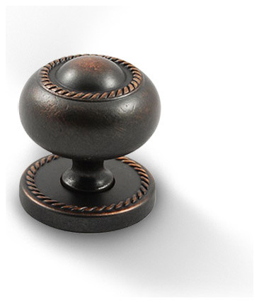 Venetian Bronze Knob, RE10201VB - Traditional - Cabinet And Drawer Knobs - by Knobbery Dot Com LLC