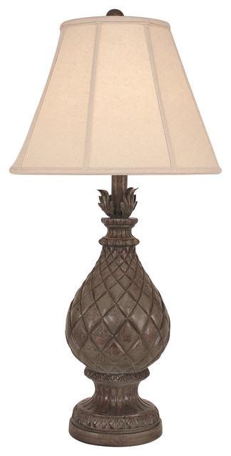 Regal Pineapple Table Lamp   Tropical   Table Lamps   By HedgeApple