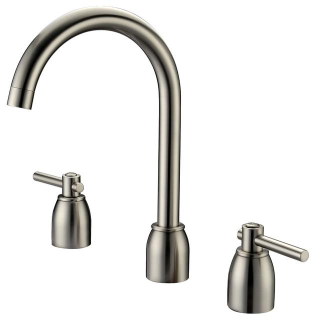 Widespread Vanity Faucet : ... Widespread Bathroom Faucet - Transitional - Bathroom Sink Faucets - by