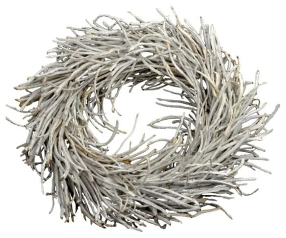 White Rattan Wreath.