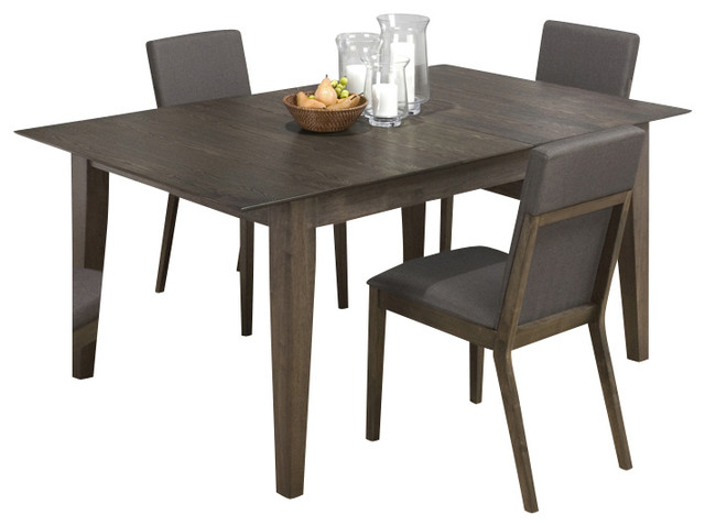Jofran 728 72 Antique Gray Ash Butterfly Leaf Dining Table