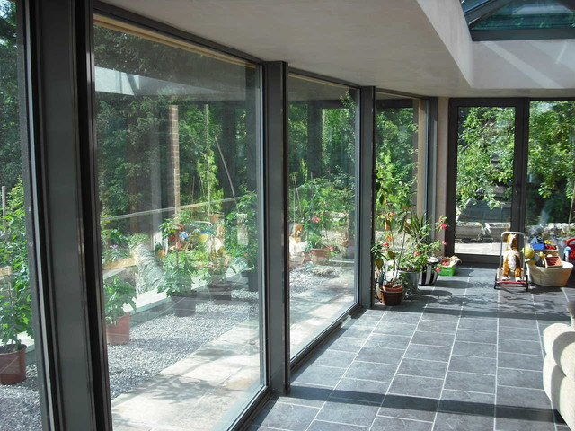 Modern Glass Extensions modern and contemporary glass extensions - london -bespoke
