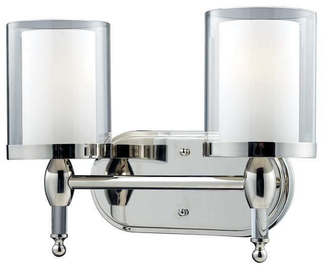 2 Light Vanity Light Transitional Bathroom Vanity Lighting By Z Lite