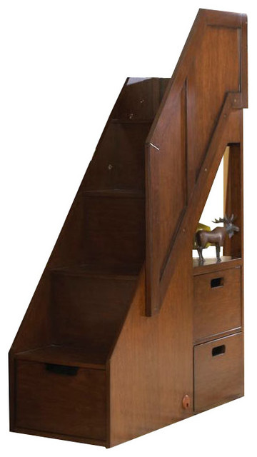 Samuel Lawrence Furniture Expedition Bunk Bed Steps Cherry