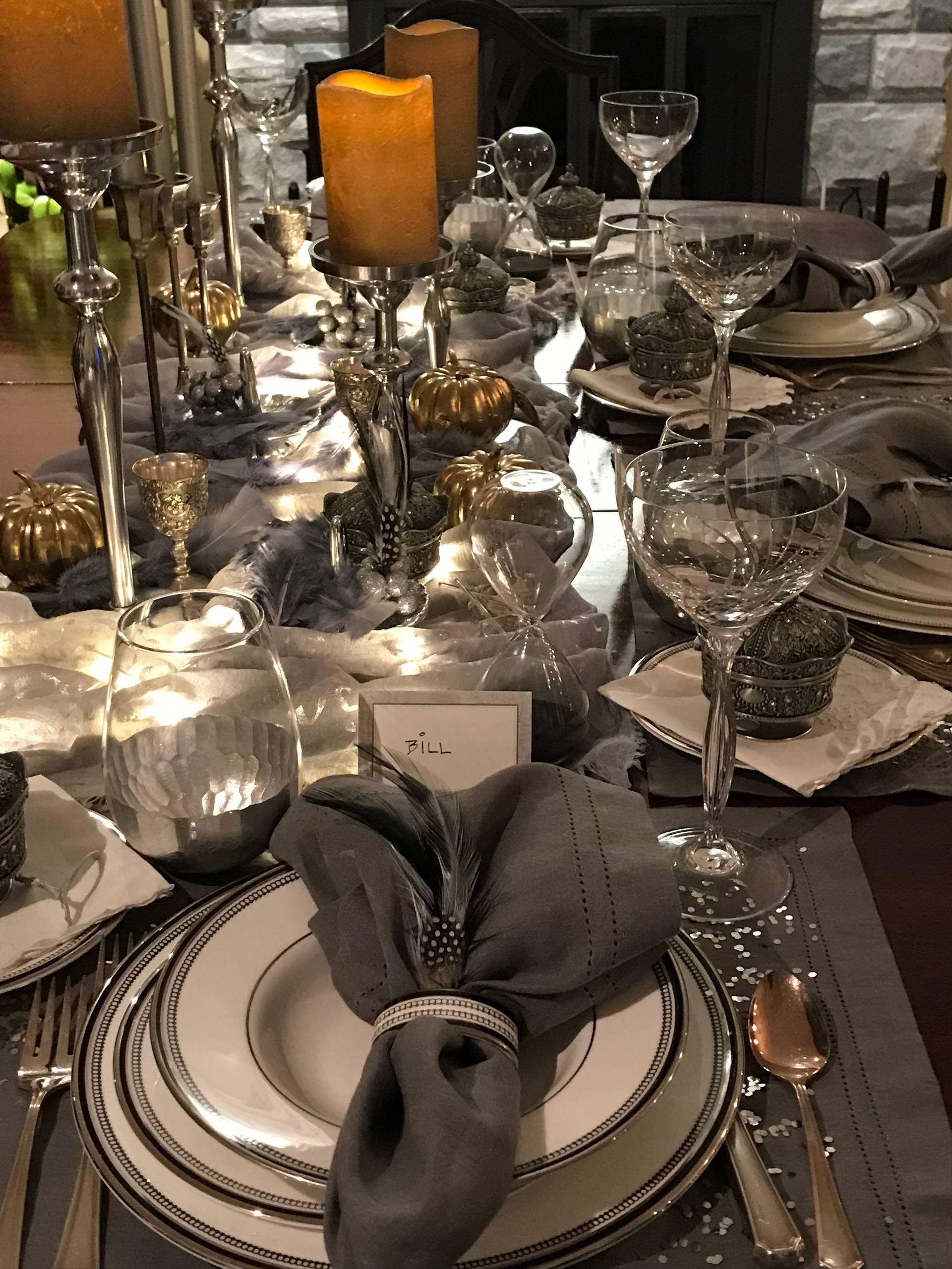 Elegant Holiday Tablescapes