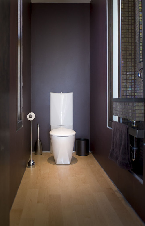 22nd modern powder room