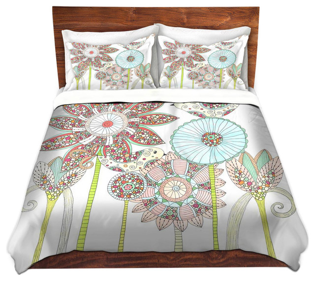 Dianoche Microfiber Duvet Covers By Valerie Lorimer My Perfect Garden Contemporary