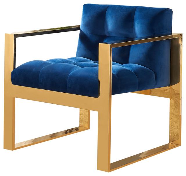 Mia Velvet Accent Chair Green Contemporary Armchairs  : contemporary armchairs and accent chairs from www.houzz.com size 640 x 604 jpeg 72kB
