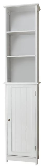 Traditional Tall Bathroom Cabinet