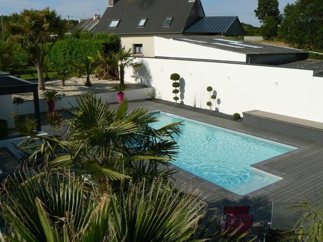 Am nagement autour d 39 une piscine for Photo d amenagement piscine
