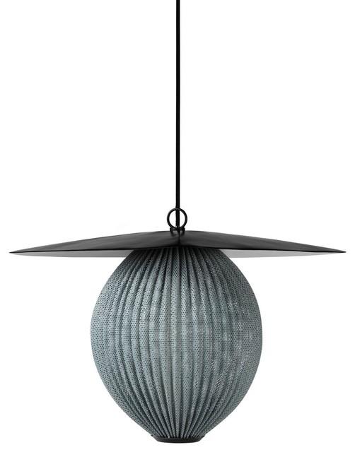 Gubi Satellite Pendant Lamp Medium Finish Grey