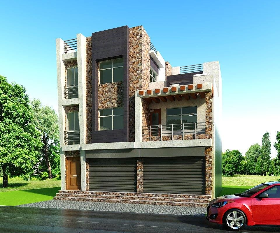 Residence Design of Mr kamal Kunwar at Pokhara