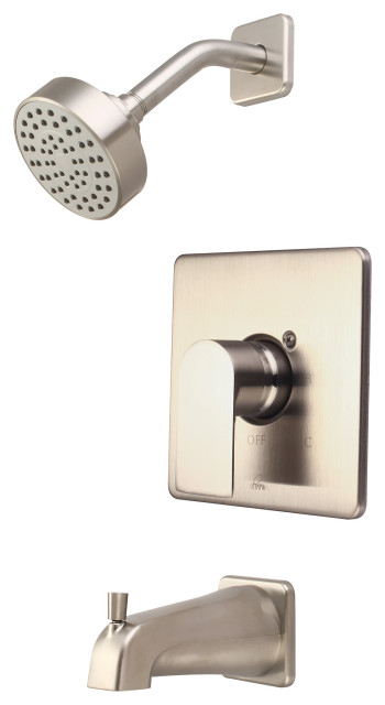 Single Handle Tub And Shower Trim Set Contemporary Tub And Shower Faucet Sets By Pioneer Industries Inc