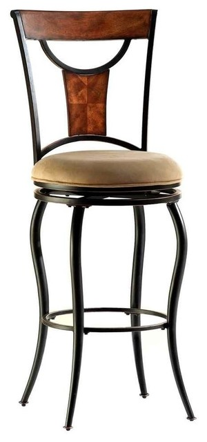 Pacifico Swivel Counter Stool 26 Quot Transitional Bar