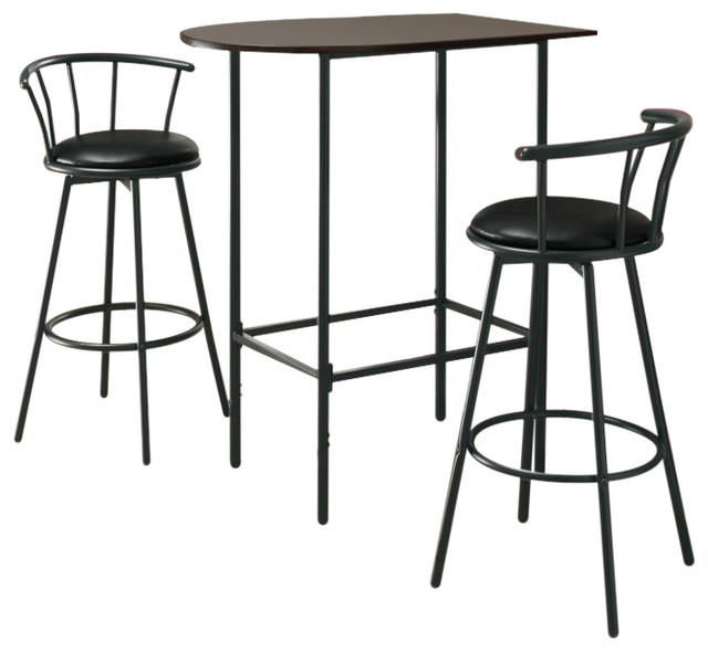 Swell Monarch Specialties Barstools Set Of 2 36 Swivel Black Metal I2398 Machost Co Dining Chair Design Ideas Machostcouk