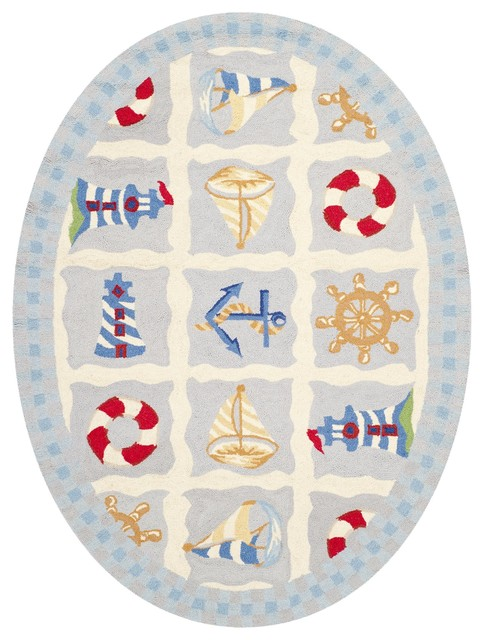 Safavieh Chelsea Ivory Country & Floral Rug - HK239A-26