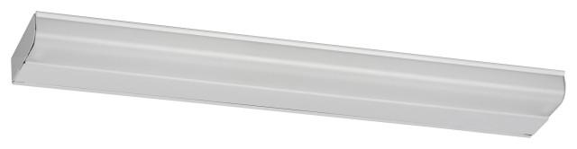 "T5 Fluorescent Undercabinet Lighting, 42"", No Switch, White Finish"