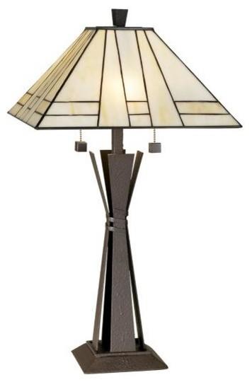 Pacific Coast Lighting Citycraft Table Lamp Craftsman