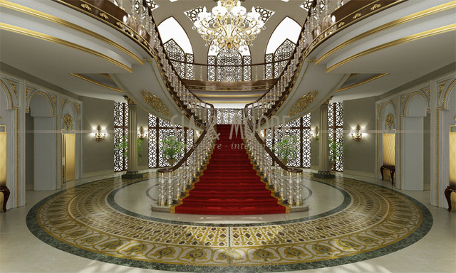 Doha Mansion 1 Qatar Traditional Entry Other By