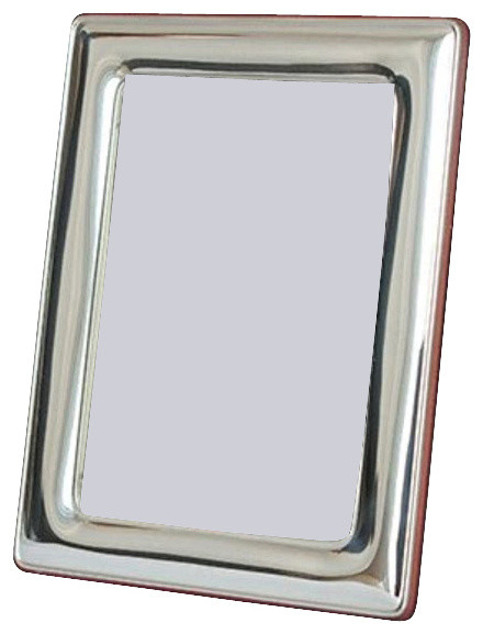 aurelie sterling silver picture frame silver 35 x 5 contemporary picture