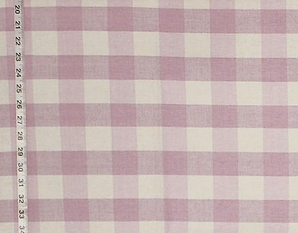 Buffalo Check Fabric Pastel Purple Violet Rt Lym Dl82 Pale Lilac Standard Cut