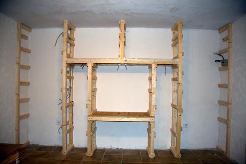 Keller renovieren vorher nachher  Ungenutzter Kellerraum - vorher / nachher