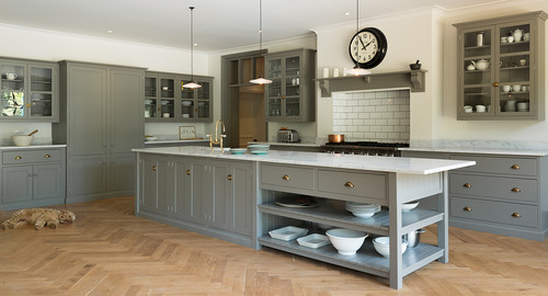 Bespoke Kitchens any non-bespoke kitchens like these? painted, in-frame, shaker.
