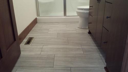 Tiled Bath Floor