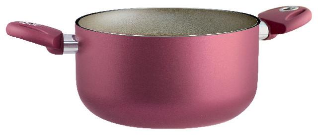 "Uniqum Rubino Sauce Pan With 2 Handles, 9.5""."