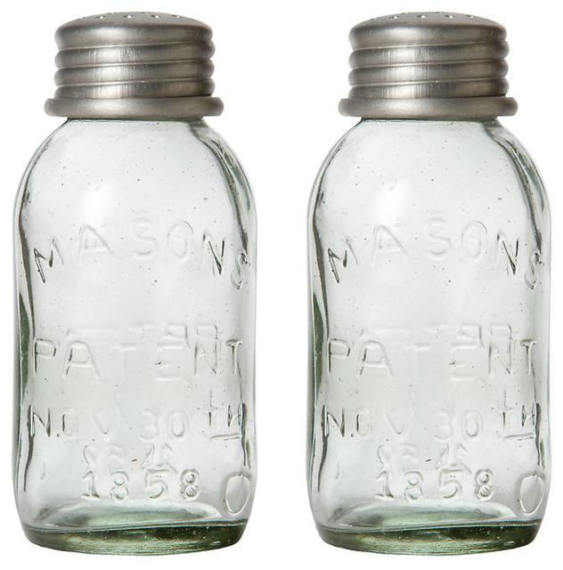 Mason Jar Shaker Set