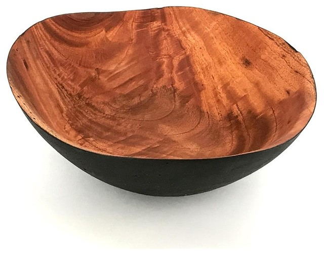 Itza Wood Ola Bowl Rustic Decorative Bowls By Sprout