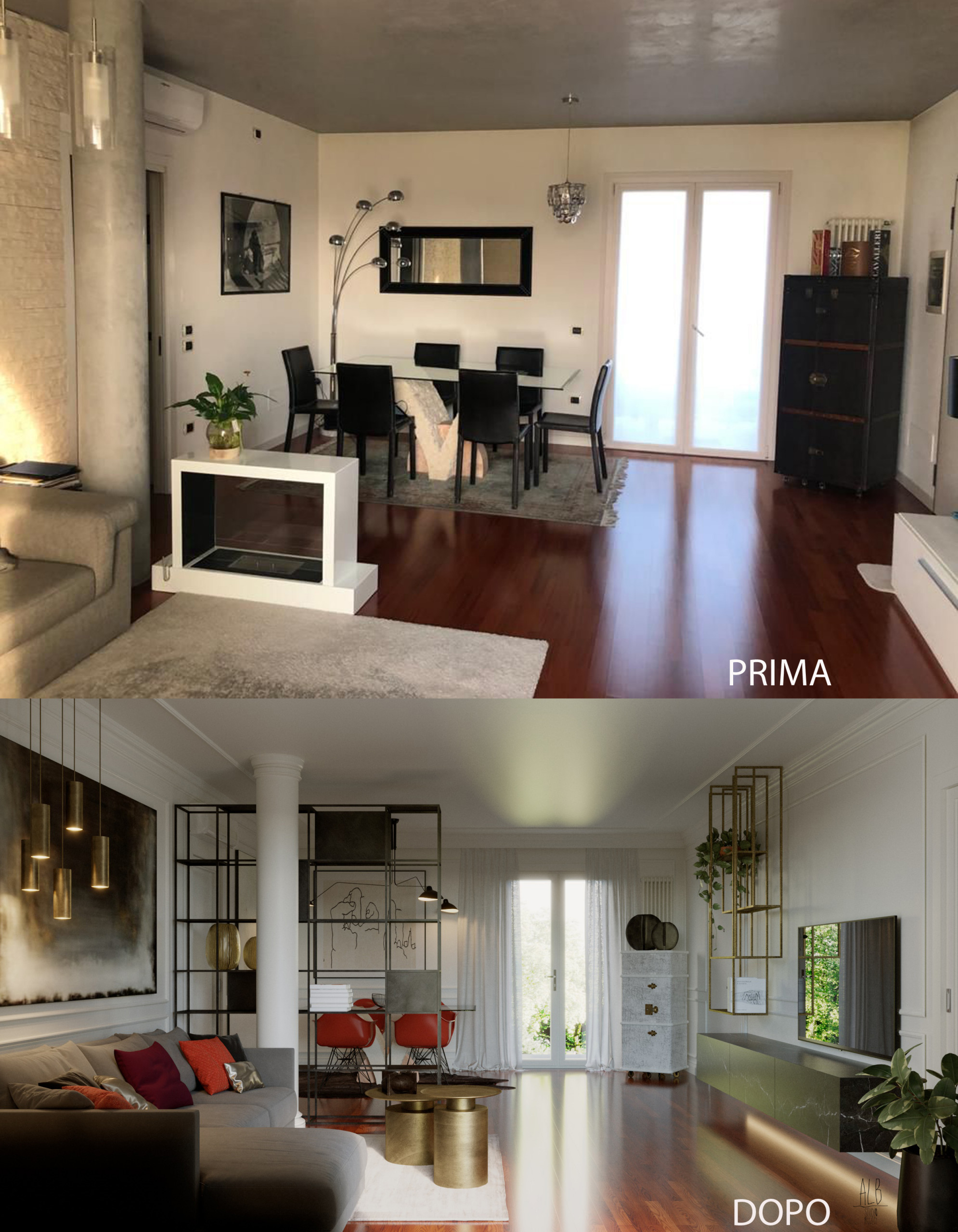 QUINTO DI TV - RESTYLING AREA LIVING